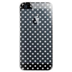 【iPhone SE/5s/5ケース】iPhone SE/5s用 フローティングパターンカバーセット(ミラードット)_0
