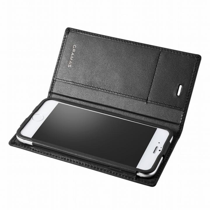 iPhone6s/6 ケース GRAMAS フルレザー手帳型ケース ブラック iPhone 6s/6_0