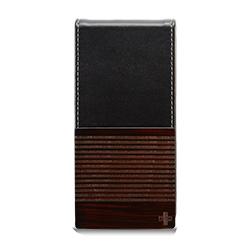 iPhone SE/5s/5 ケース iPhone SE/5s用 バーチカルフリップスタイルケース(ブラック)_0