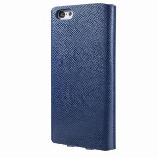 【iPhone6s/6ケース】Helium 薄型 One Sheet PUレザー手帳型ケース ネイビー iPhone 6s/6ケース_2