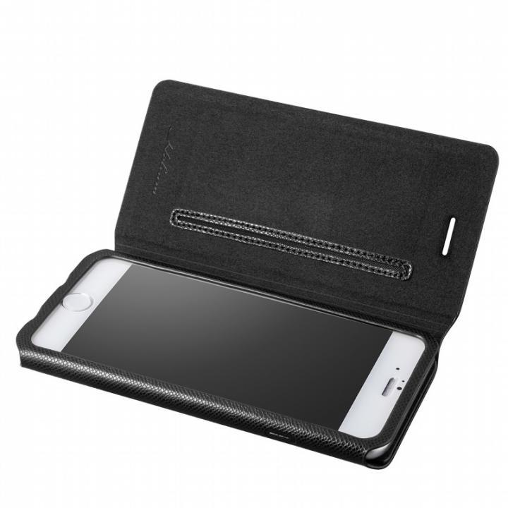 iPhone6s/6 ケース Helium 薄型 One Sheet PUレザー手帳型ケース ブラック iPhone 6s/6ケース_0