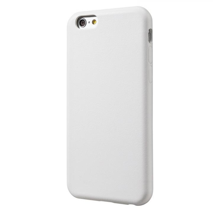 極薄PUレザーケース ホワイト iPhone 6ケース