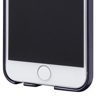 【iPhone6ケース】極薄PUレザーケース ネイビー iPhone 6ケース_4