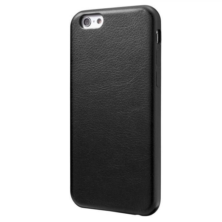 iPhone6 ケース 極薄PUレザーケース ブラック iPhone 6ケース_0