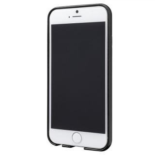 【iPhone6ケース】極薄PUレザーケース ブラック iPhone 6ケース_1