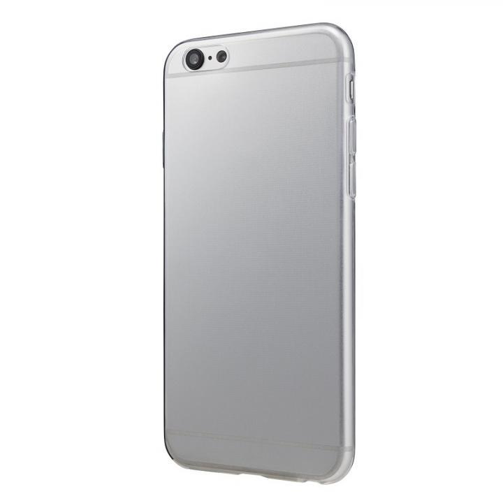 【iPhone6s/6ケース】厚さ0.6mm極薄ソフトケース マットスモーク iPhone 6s/6ケース_0