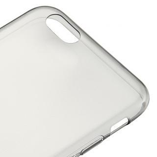 【iPhone6s/6ケース】厚さ0.6mm極薄ソフトケース マットスモーク iPhone 6s/6ケース_5