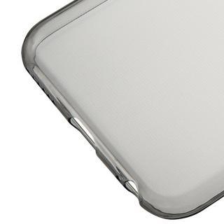 【iPhone6s/6ケース】厚さ0.6mm極薄ソフトケース マットスモーク iPhone 6s/6ケース_6