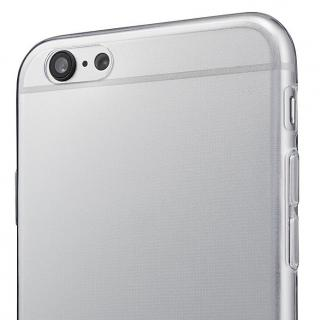 【iPhone6s/6ケース】厚さ0.6mm極薄ソフトケース マットスモーク iPhone 6s/6ケース_7