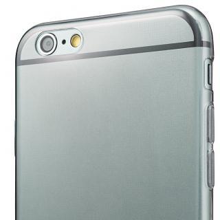 【iPhone6s/6ケース】厚さ0.6mm極薄ソフトケース マットスモーク iPhone 6s/6ケース_8