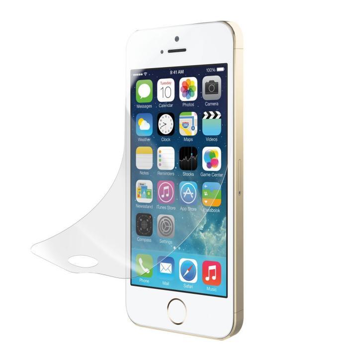 iPhone SE/5s/5 フィルム TUNEFILM Pro Clear 抗菌防指紋タイプ iPhone SE/5s/5c/5_0