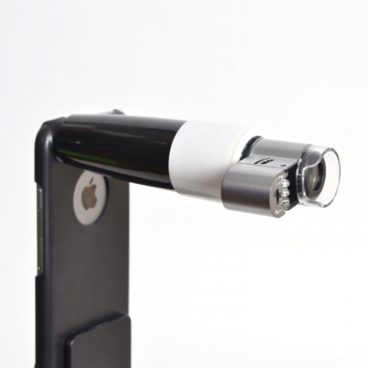 取付ケース付き280倍マイクロスコープ iPhone 6s/6