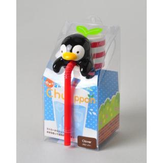 デスクで楽しめる 栽培セット ちゅっぽん シーフレンド ペンギン (ワイルドストロベリー)