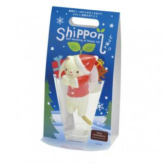 デスクで楽しめる 栽培セット しっぽんクリスマス ネコ(ワイルドストロベリー)