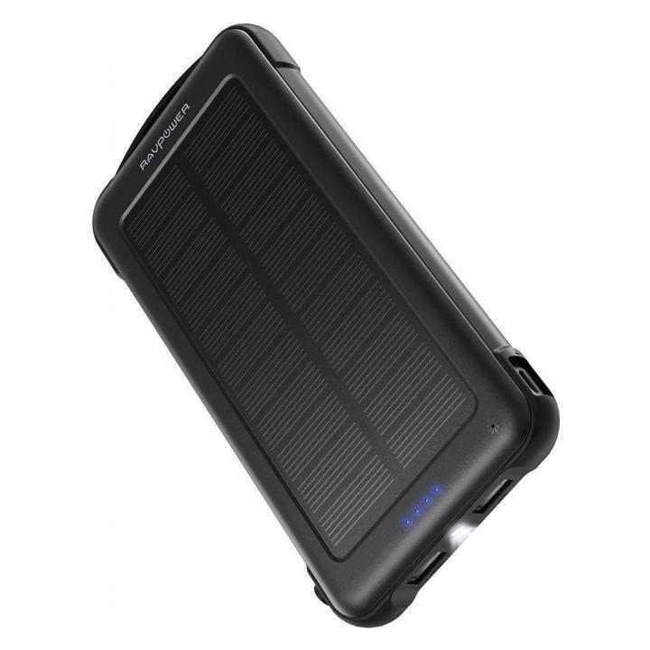 RAVPower モバイルバッテリー 10000mAh ソーラーチャージャー RP-PB082【9月下旬】_0