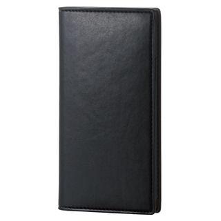 iPhone XS ケース ソフトレザー手帳型ケース イタリアン(Coronet) ネロ iPhone XS