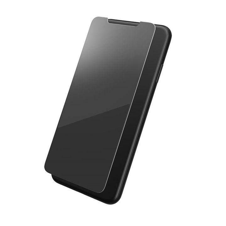 iPhone XS Max フィルム GRAMAS プロテクションミラー強化ガラス シルバー iPhone XS Max_0