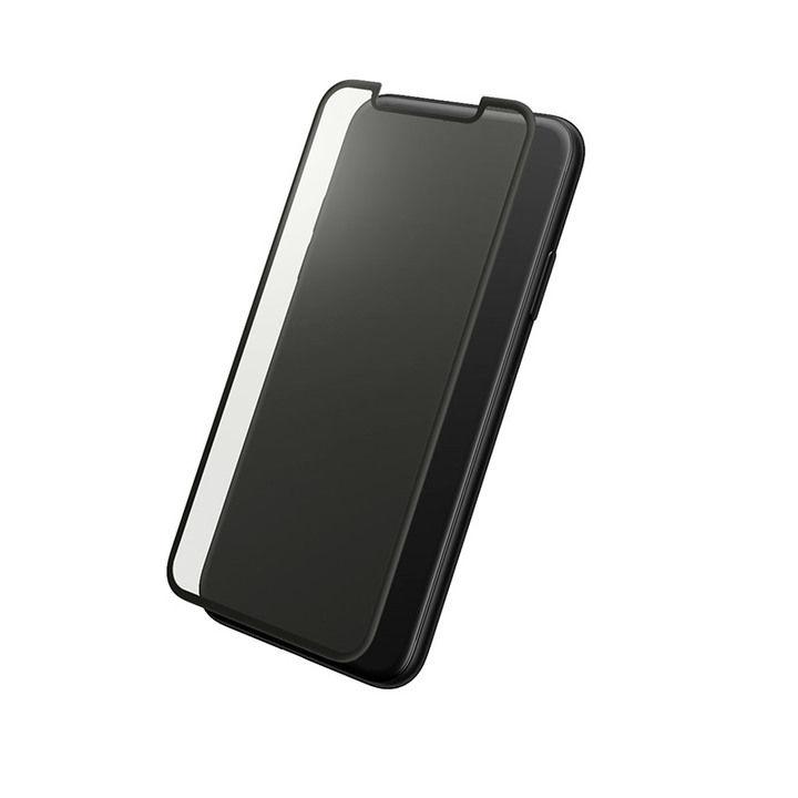 iPhone XS/X フィルム GRAMAS プロテクションフルカバー強化ガラス アンチグレア iPhone XS/X_0