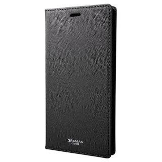 GRAMAS EURO Passione PUレザー手帳型ケース ブラック iPhone XS Max