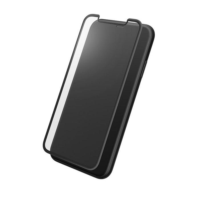 iPhone XR フィルム GRAMAS プロテクションフルカバー強化ガラス クリア iPhone XR_0