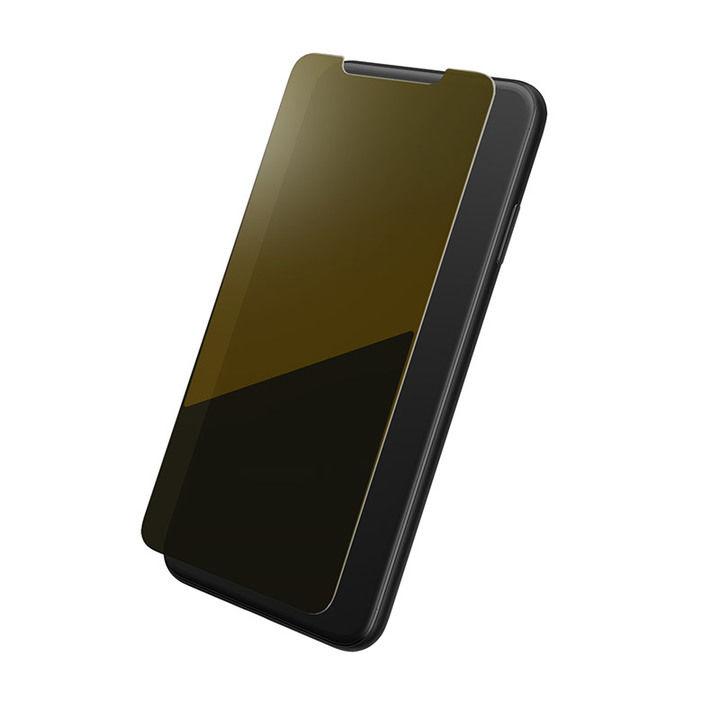 iPhone XS Max フィルム GRAMAS プロテクションミラー強化ガラス ゴールド iPhone XS Max_0
