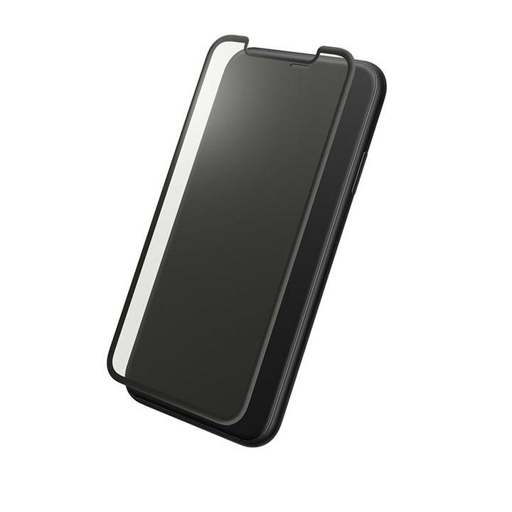iPhone XR フィルム GRAMAS プロテクションフルカバー強化ガラス ブルーライトカット iPhone XR_0