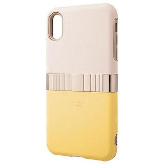 iPhone XS Max ケース GRAMAS Rel ハイブリッドケース イエロー iPhone XS Max