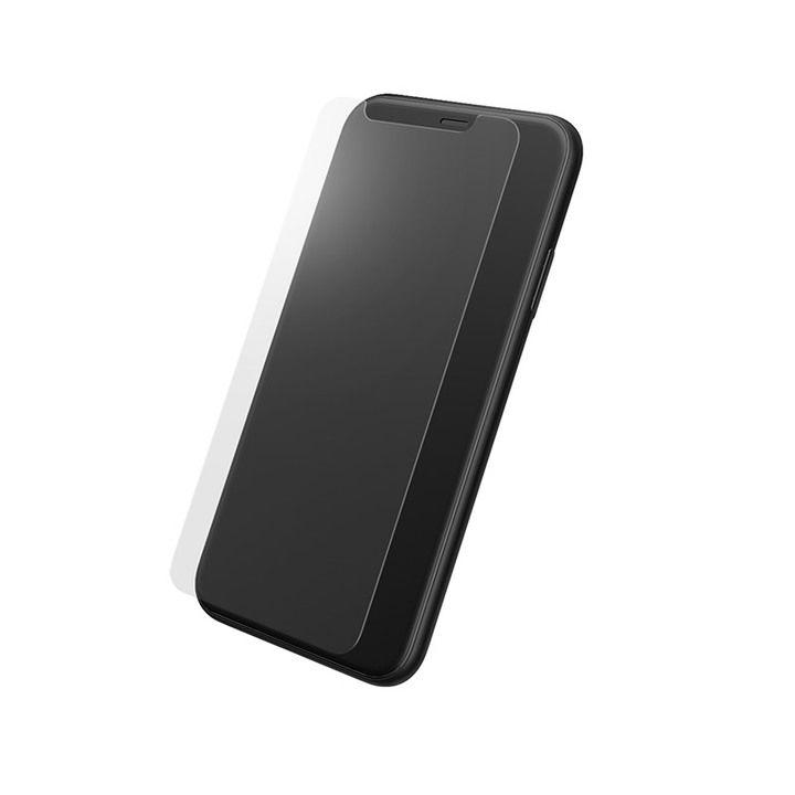 iPhone XS/X フィルム GRAMAS プロテクション強化ガラス クリア iPhone XS/X_0