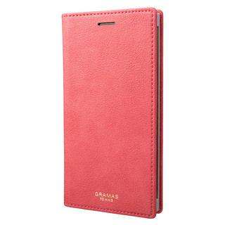 【iPhone XSケース】GRAMAS Colo 手帳型ケース ピンク iPhone XS