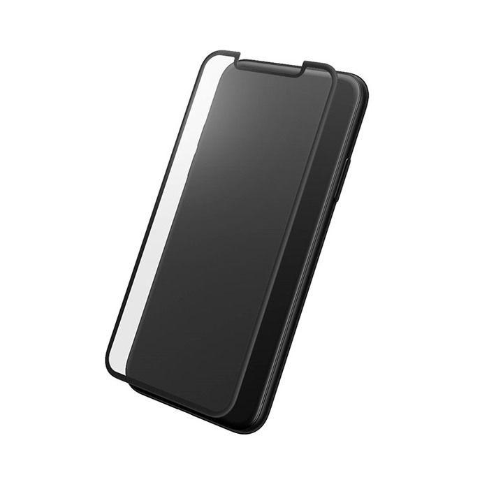 iPhone XS/X フィルム GRAMAS プロテクションフルカバー強化ガラス クリア iPhone XS/X_0
