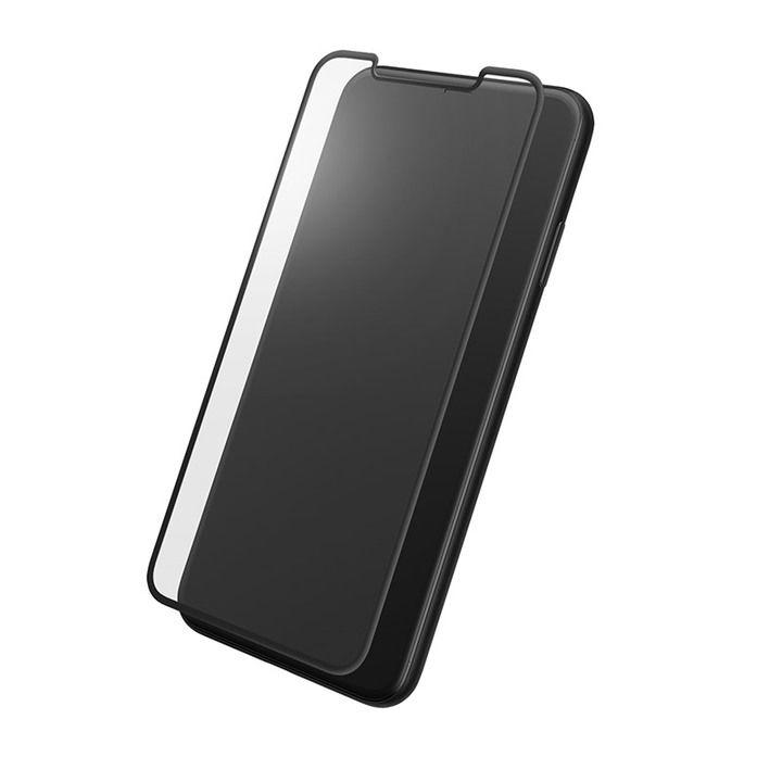iPhone XS Max フィルム GRAMAS プロテクションフルカバー強化ガラス クリア iPhone XS Max_0