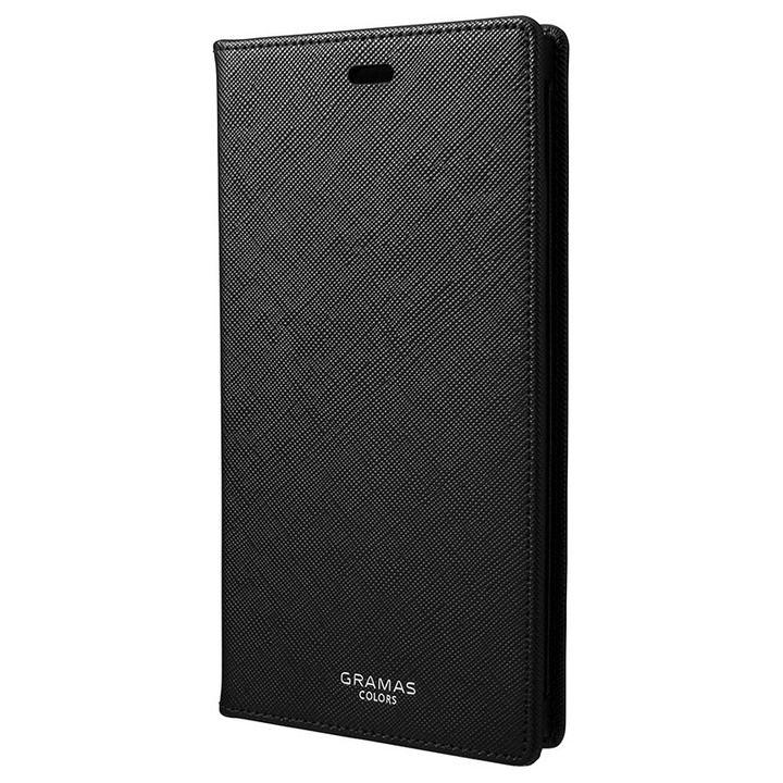 iPhone XR ケース GRAMAS EURO Passione PUレザー手帳型ケース ブラック iPhone XR_0