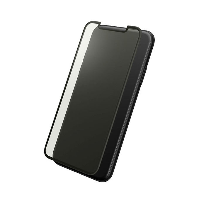 iPhone XS/X フィルム GRAMAS プロテクションフルカバー強化ガラス ブルーライトカット iPhone XS/X_0