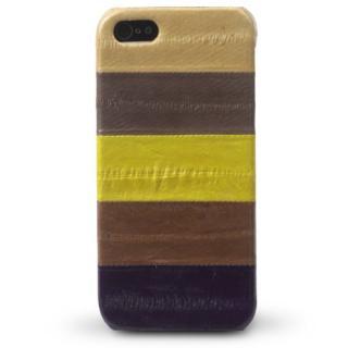iPhone5s/5 Prestige Eel Leather Bar  Multi Brown