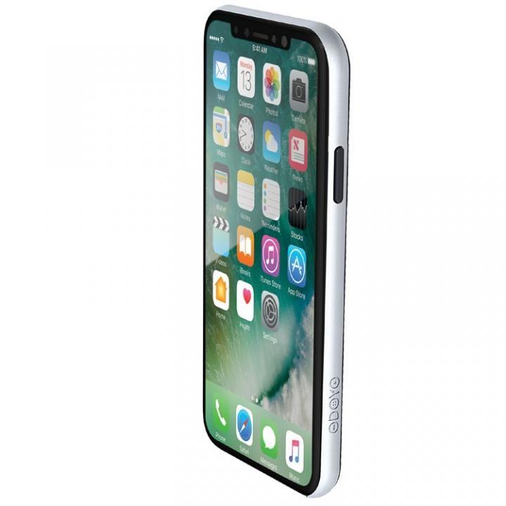 【iPhone Xケース】ODOYO定番の二重構造バンパー ブレードエッジ ベガスシルバー iPhone X_0