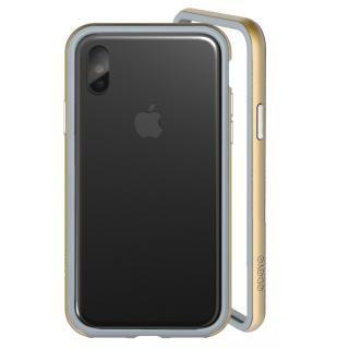 ODOYO定番の二重構造バンパー ブレードエッジ オリオンゴールド iPhone X【10月上旬】