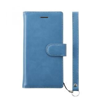 simplism フリップノートケース FlipNote ブルー iPhone 8