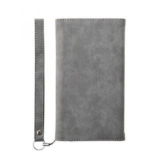 simplism フリップノートカードケース BillFold グレー iPhone 8
