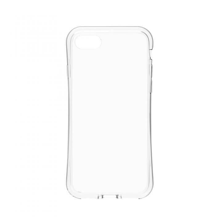 simplism 衝撃吸収フルカバーTPUケース Aegis Grip クリア iPhone 8