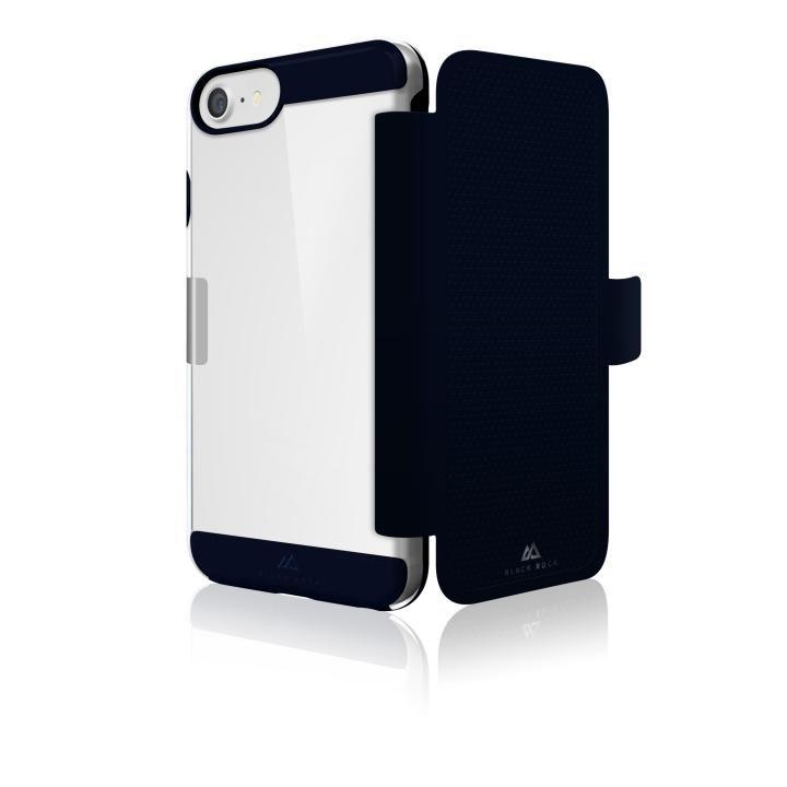Black Rock エアビジネス手帳型ケース ダークネイビー iPhone 8