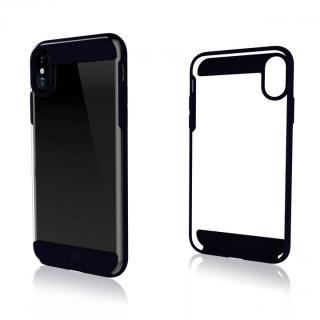 Black Rock 背面耐衝撃ケース ダークネイビー iPhone X
