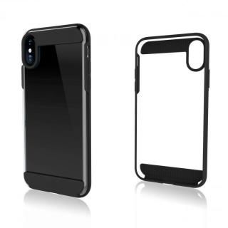 Black Rock 背面耐衝撃ケース ブラック iPhone X