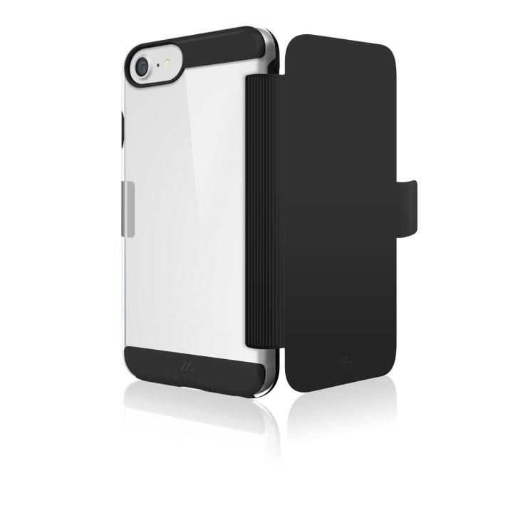 Black Rock エアフィットネス 手帳型耐衝撃ケース ブラック iPhone 8