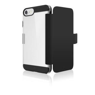 Black Rock エアフィットネス 手帳型耐衝撃ケース ブラック iPhone 8【12月下旬】