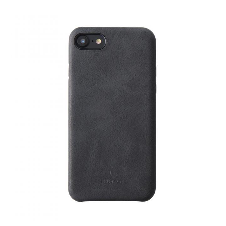 【iPhone8/7ケース】simplism NUNO バックケース ブラック iPhone 8/7_0