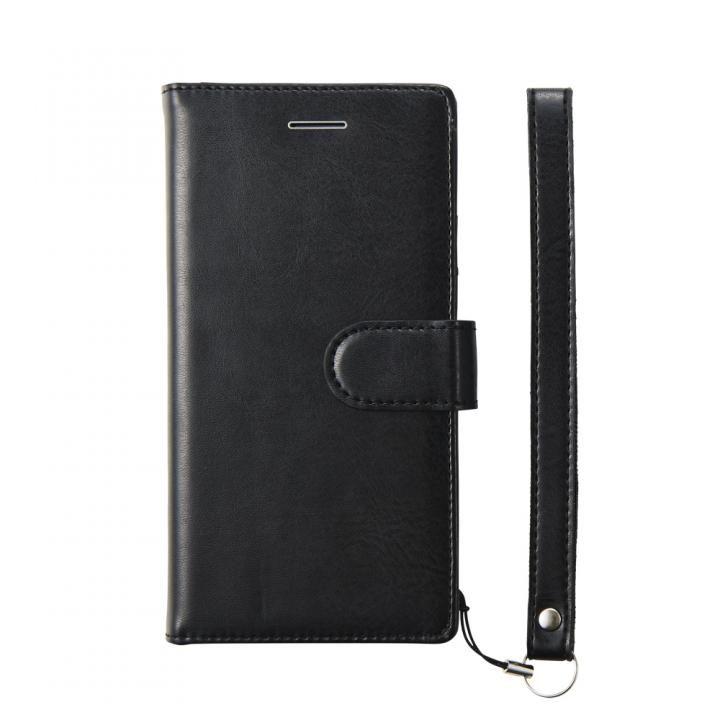 【iPhone8 Plusケース】simplism フリップノートケース FlipNote ブラック iPhone 8 Plus_0