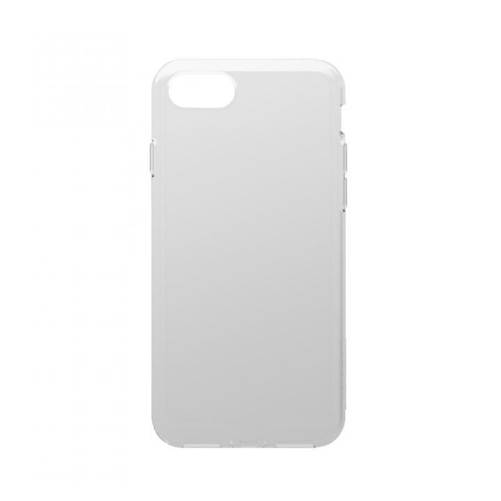 iPhone8 Plus ケース simplism 衝撃吸収シリコンケース Cushion クリアホワイト iPhone 8 Plus_0