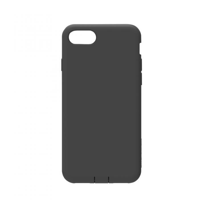 simplism 衝撃吸収シリコンケース Cushion ブラック iPhone 8 Plus
