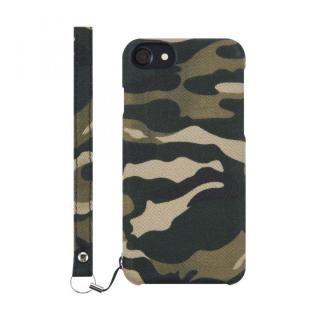 iPhone8 Plus ケース simplism NUNO ファブリックケース カモフラージュ iPhone 8 Plus