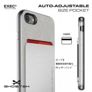 【iPhone8/7ケース】カードクリップ付タフケース エグゼク2 レッド iPhone 8/7_3